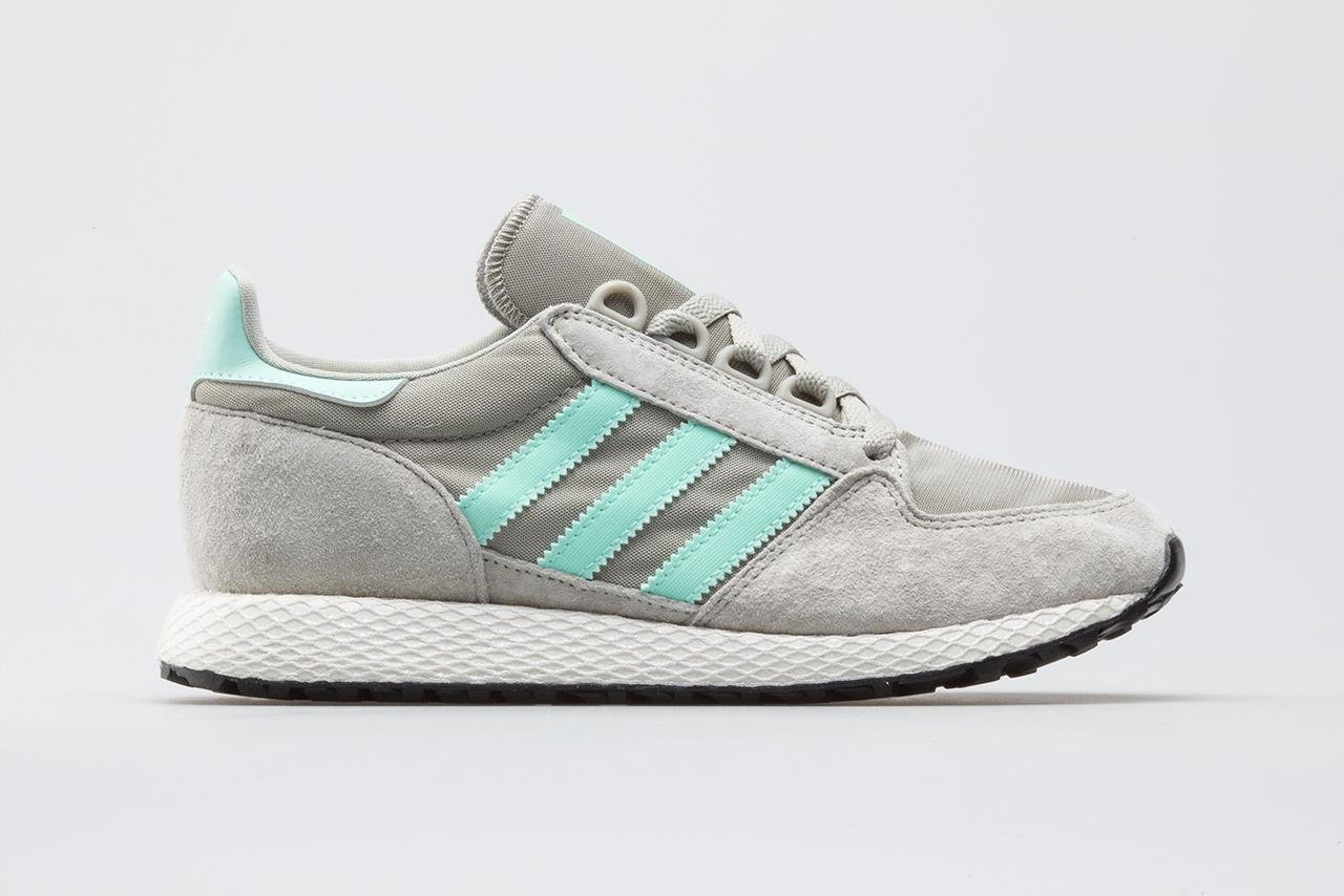 Damskie Obuwie Adidas Forest Grove Sneakersy Niskie Sesame