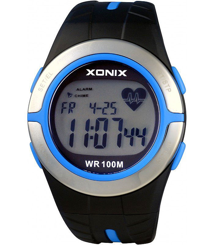 Športové hodinky XONIX HRM2 tepovej frekvencie CVIČENÍ BMI