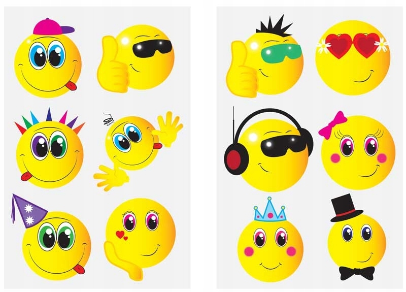 Item TATTOO WATERMARK TEMPORARY SMILES FOR CHILDREN