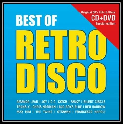 Najlepšie RETRO DISCO CD+DVD