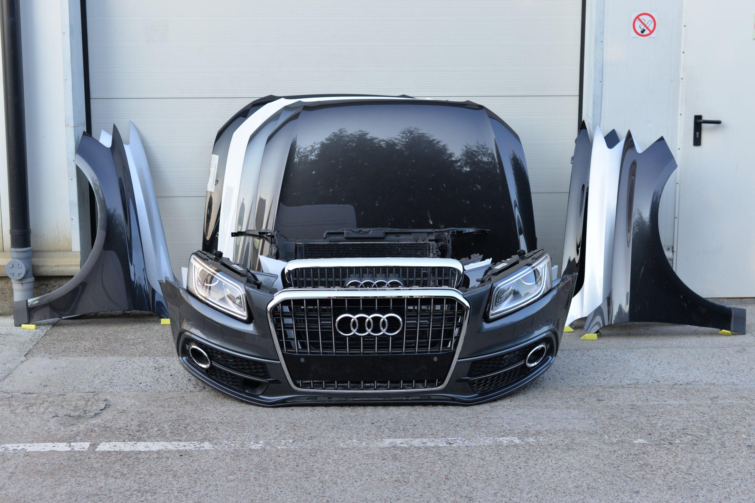 маска бампер крыло фары пояс audi q5 2012-