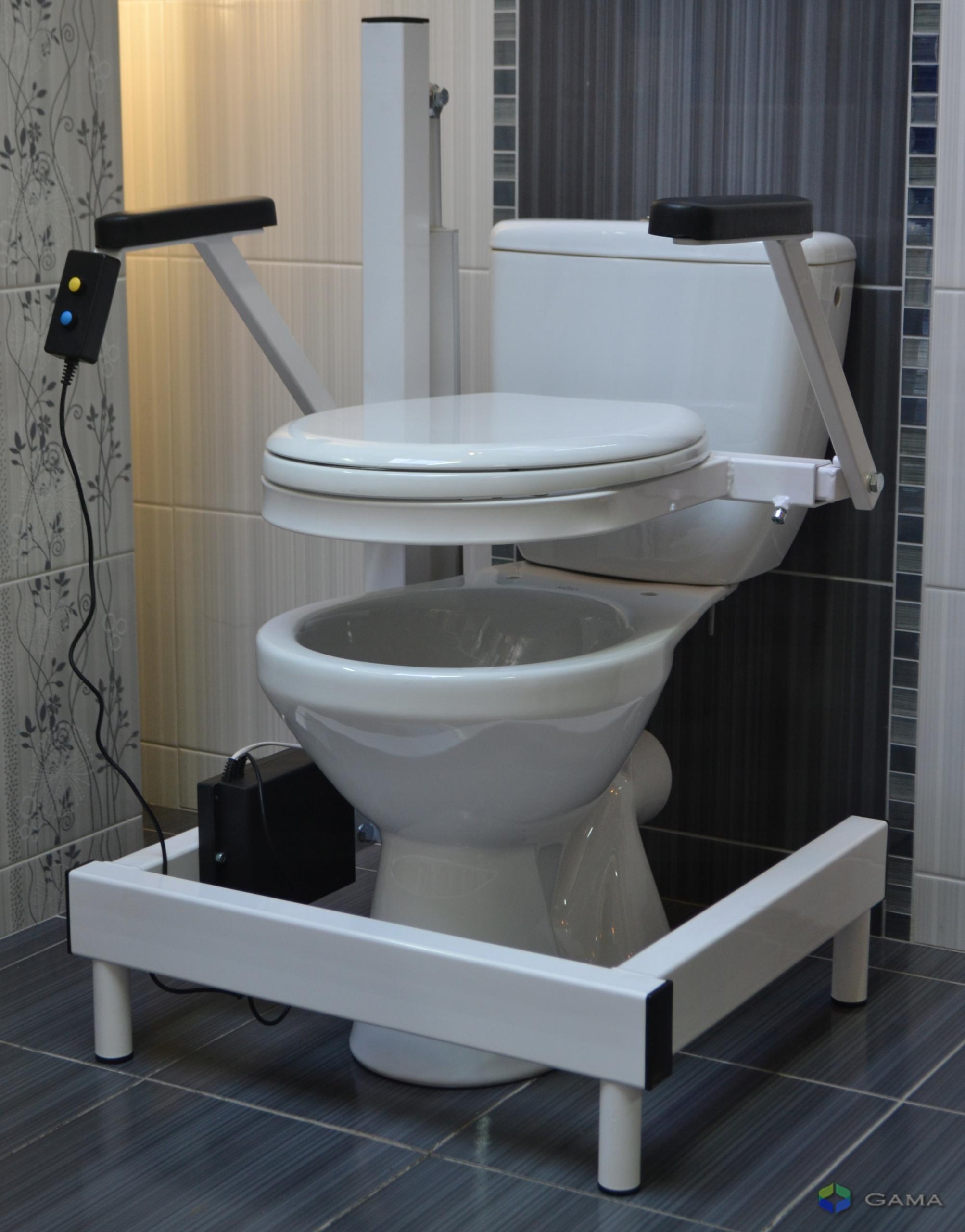 Podnośnik toaletowy elektryczny PW GAMA krzesło 7449436090