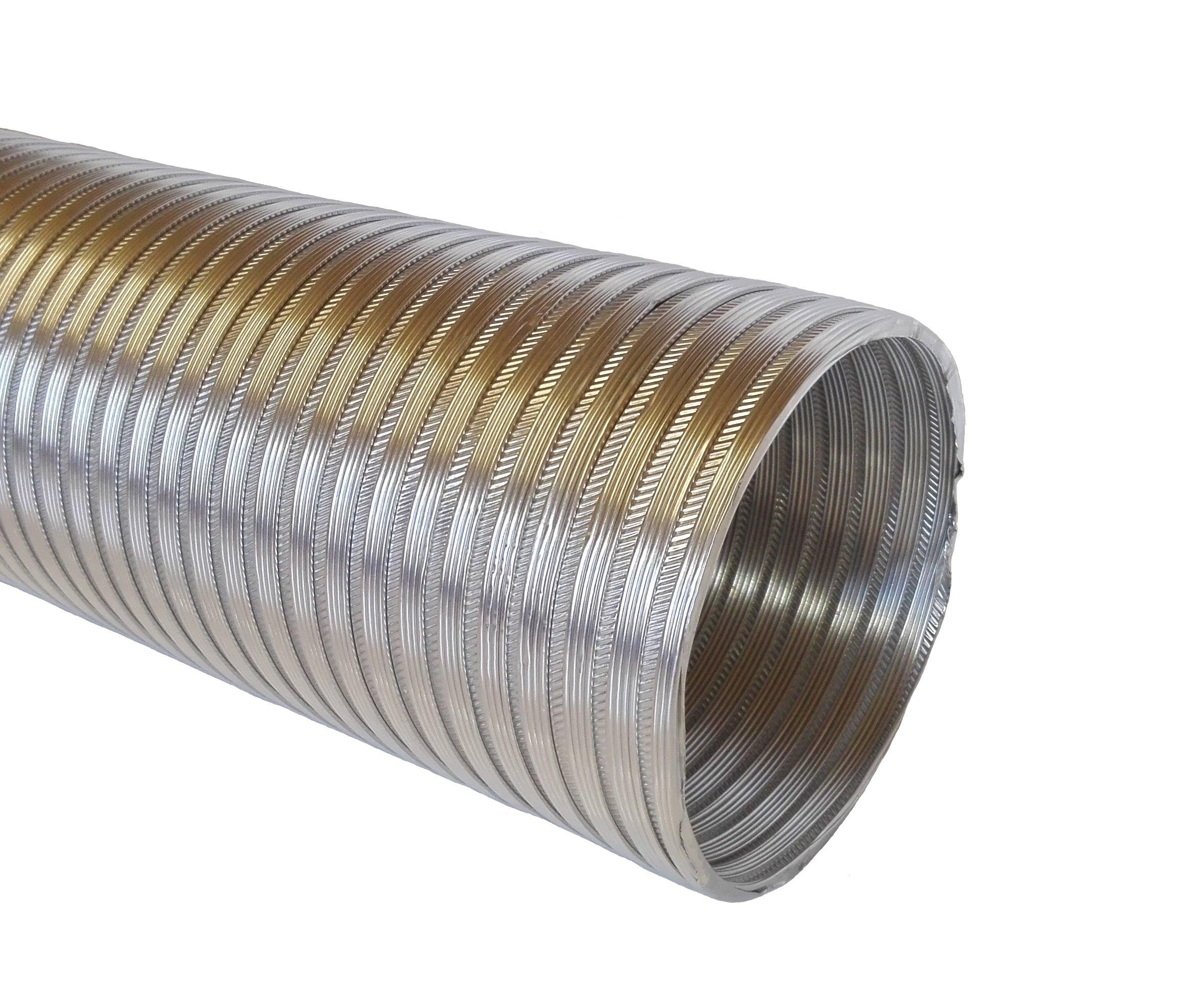Алюминиевая труба FLEX / SPIRO, кабель fi 100 мм 3м
