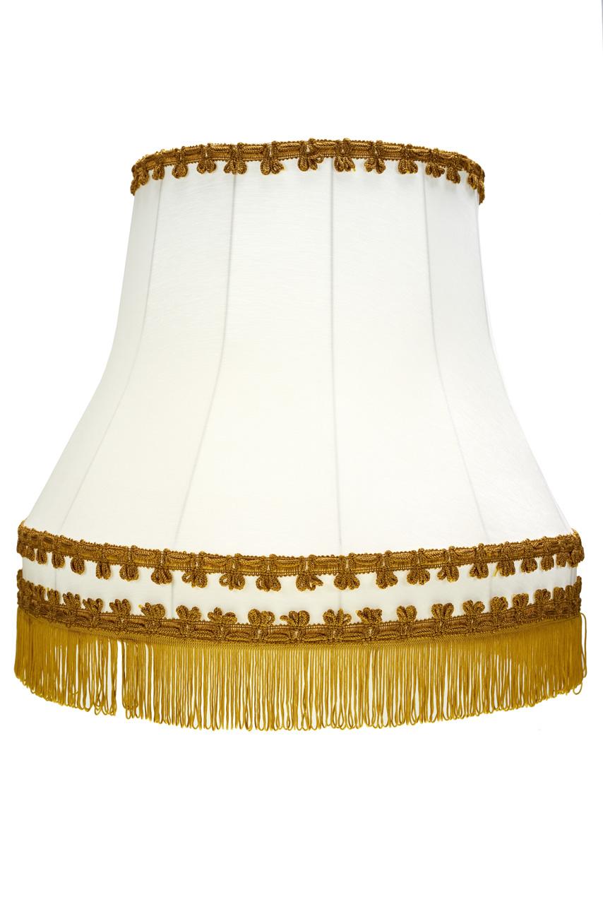 Tienidlo lampy Tieni Retro Súd Béžová/Gold 14x23x19 cm