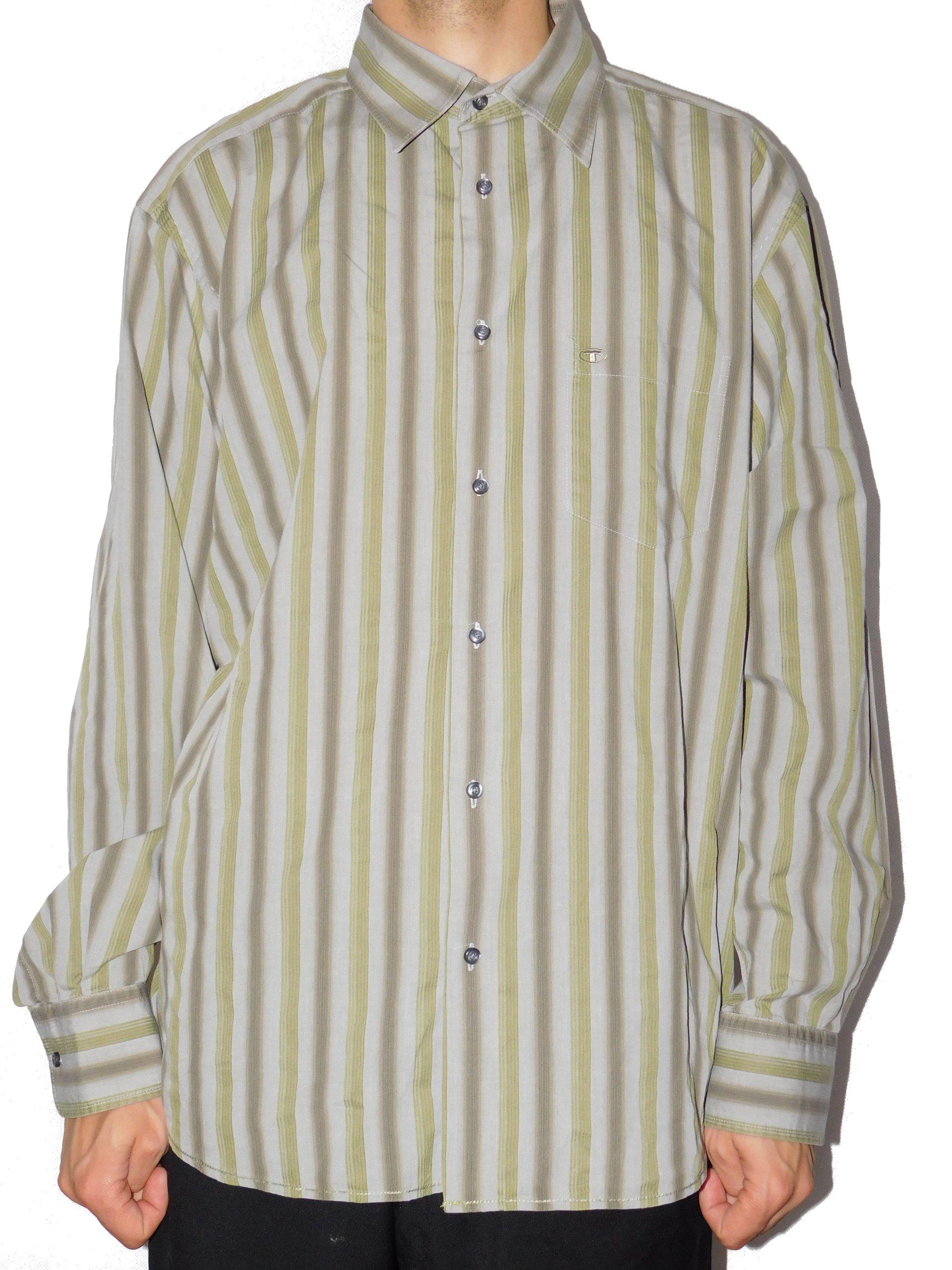 0dc07a53833fad Tom Tailor koszula męska kołnierz 41 cm L 7572838598 - Allegro.pl