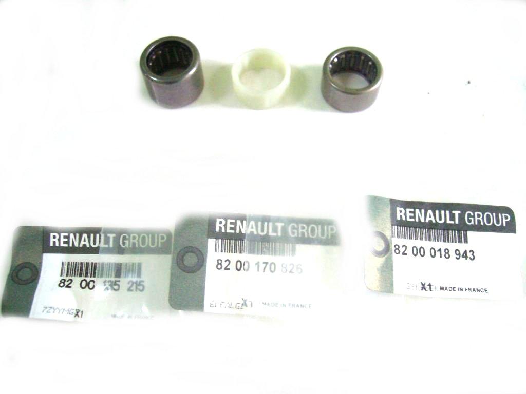 Подшипники селектор коробки pk5 pk6 pf6 renault орг