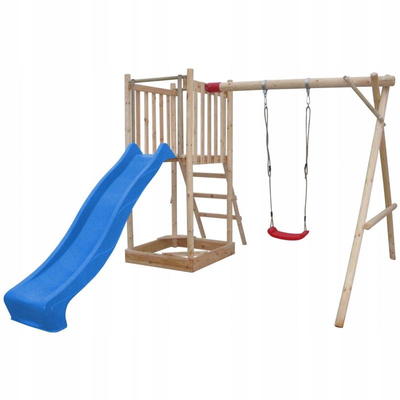 Detské ihrisko Swan Swing Slide Tower