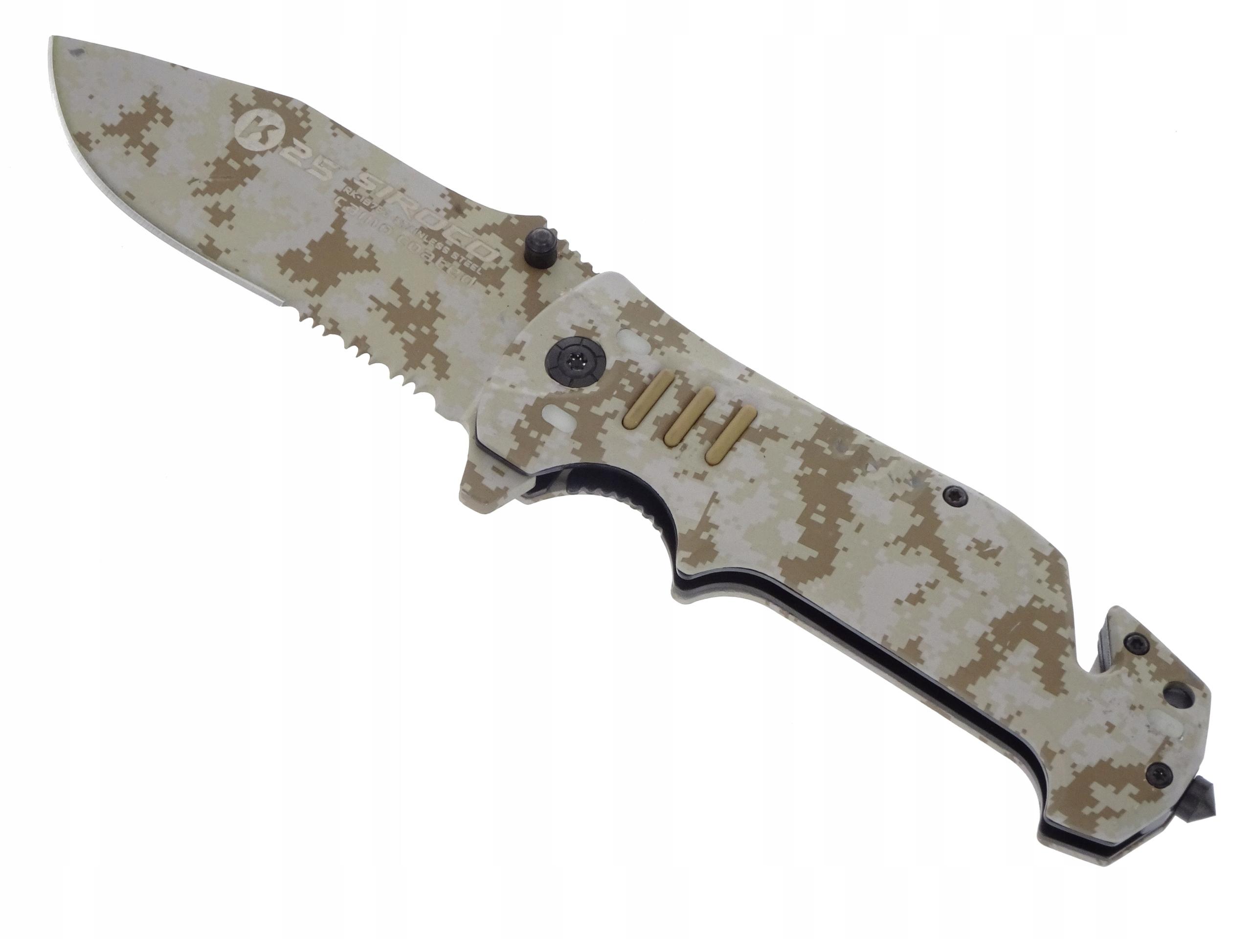 Nôž taktické / záchranné K 25 Albainox 19760