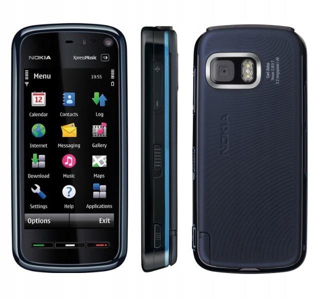 Купить Сенсорная Nokia 5800 XM-доставка PL!-черно-голубенькое на Otpravka - цены и фото - доставка из Польши и стран Европы в Украину.