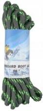 sznurowadła для butów snowboardowych 2,5m zielone