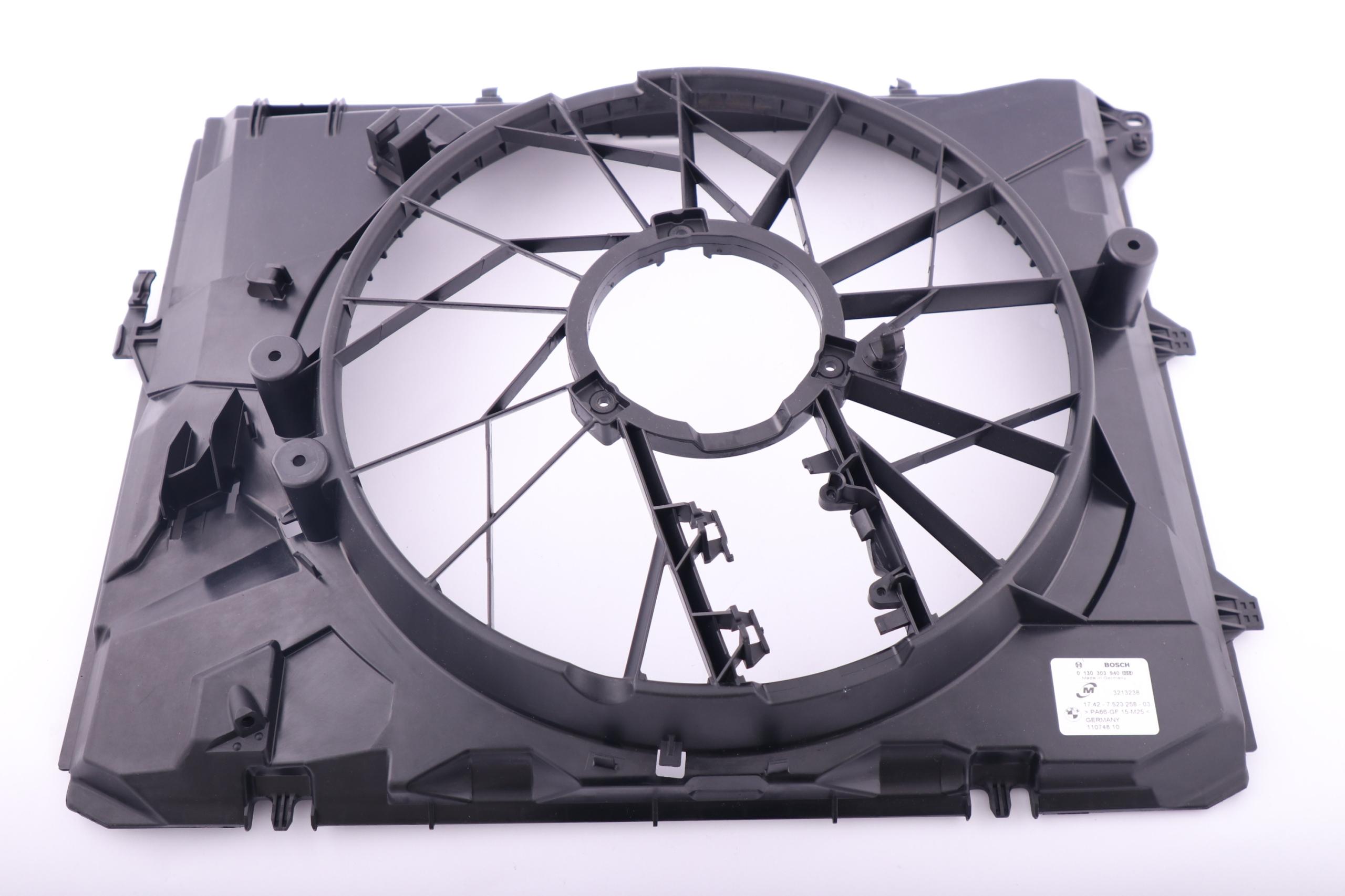 bmw e87 e90 корпус крышка вентилятора