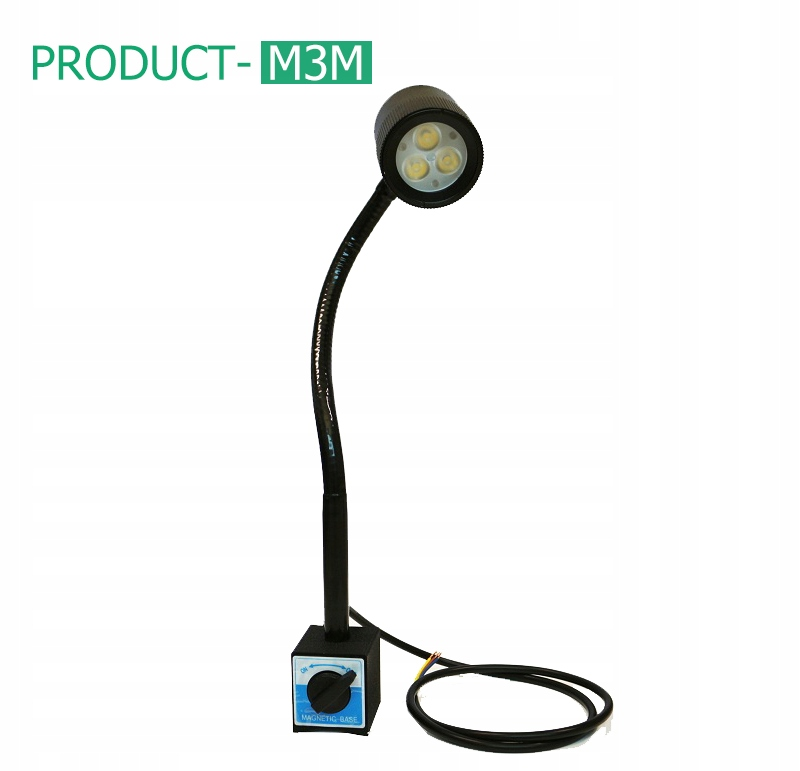 Лампа машинная LED магнитная M3M 4 .5W 24V