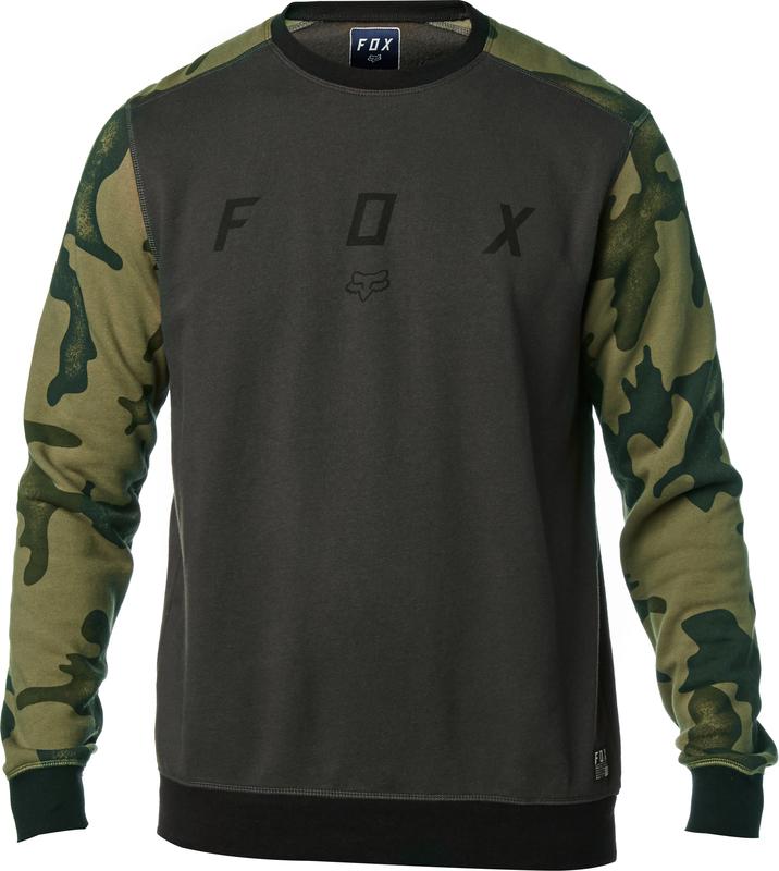 OKRES FOX BLACK KLASICKÁ MIKINA 2018 CAMO MX XXL