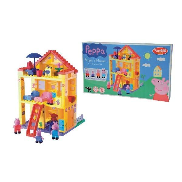 VEĽKÉ PlayBIG Bloxx Peppa Prasiatko Peppov dom 57078