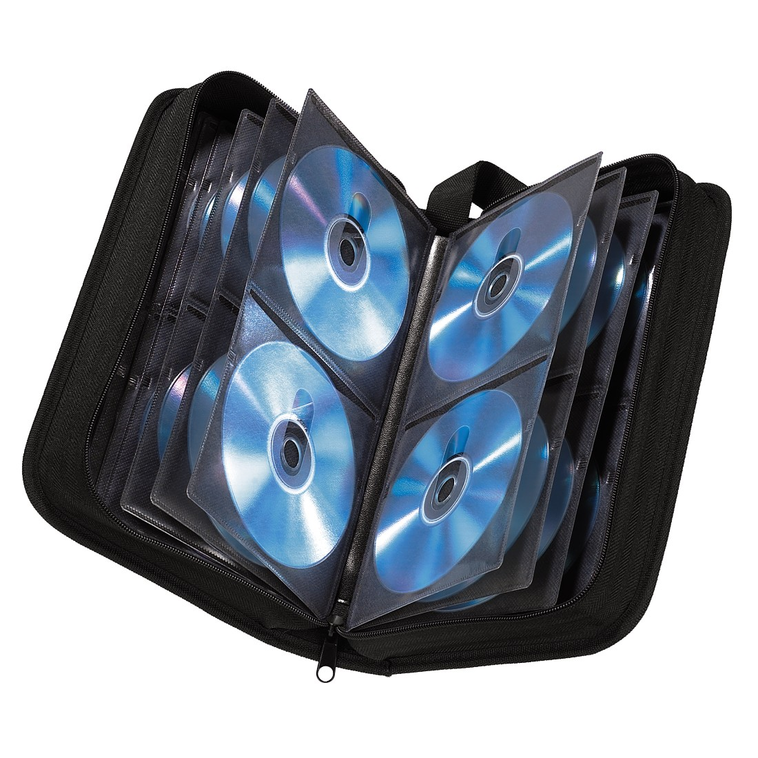 Item Cover case for 104 CD DVD Wallet HAMA
