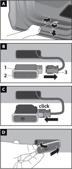 LED LOGO PROJEKTOR HD MERCEDES A B C E ML GL 7W Producent Interlook