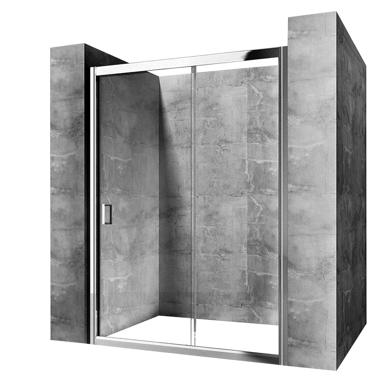 Posuvné sprchové dvere SLIDE PRO 120 x190 REA