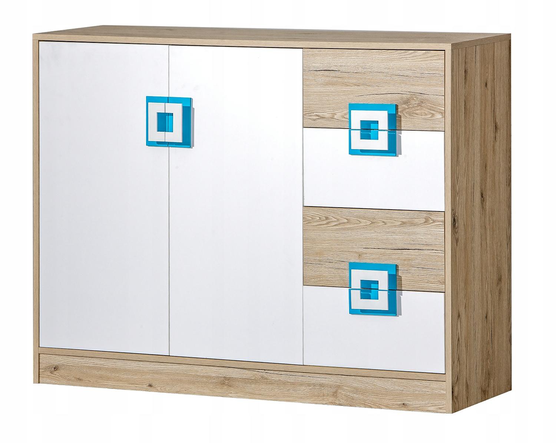 komoda z szufladami do pokoju dziecięcego NICO 08