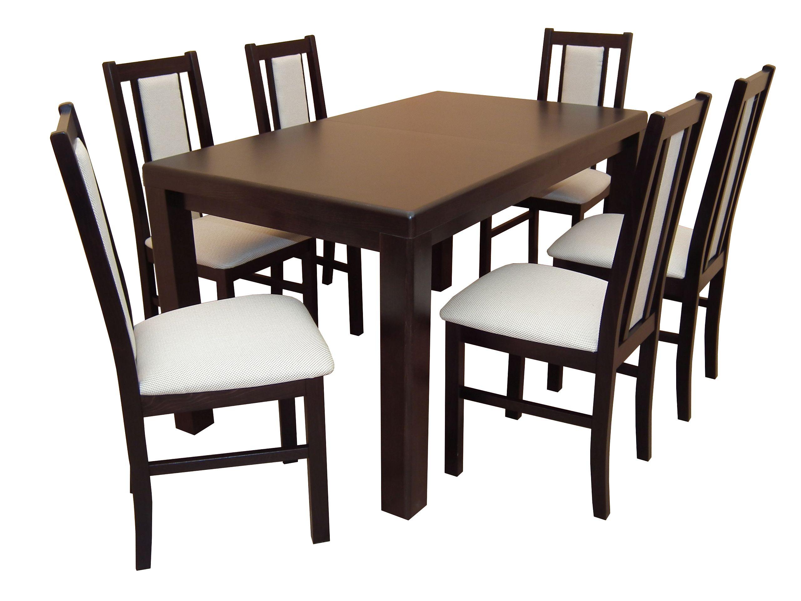 Solidny Komplet Do Salonu Jadalni Stol 6 Krzesel