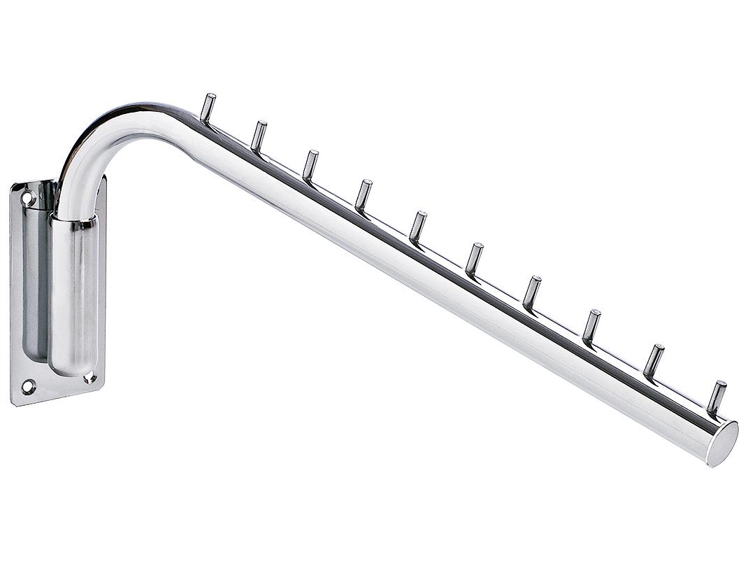 Вешалка для труб 10 штифтов 50 см ТВЕРДОЕ f1