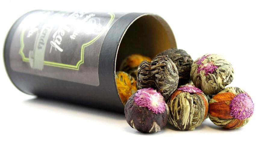 Item Touch Green Tea KIT 10 x TEA BLOOMING puszk