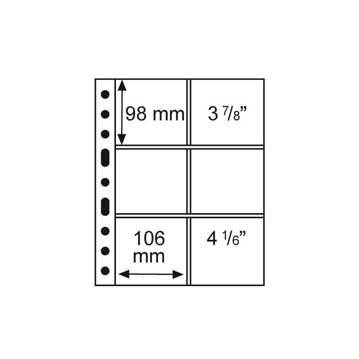 Grande 3/2 C - Perivové podložky - Leuchtturm