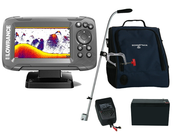 Ryby finder s GPS Lowrance Hook2 4x Super Set