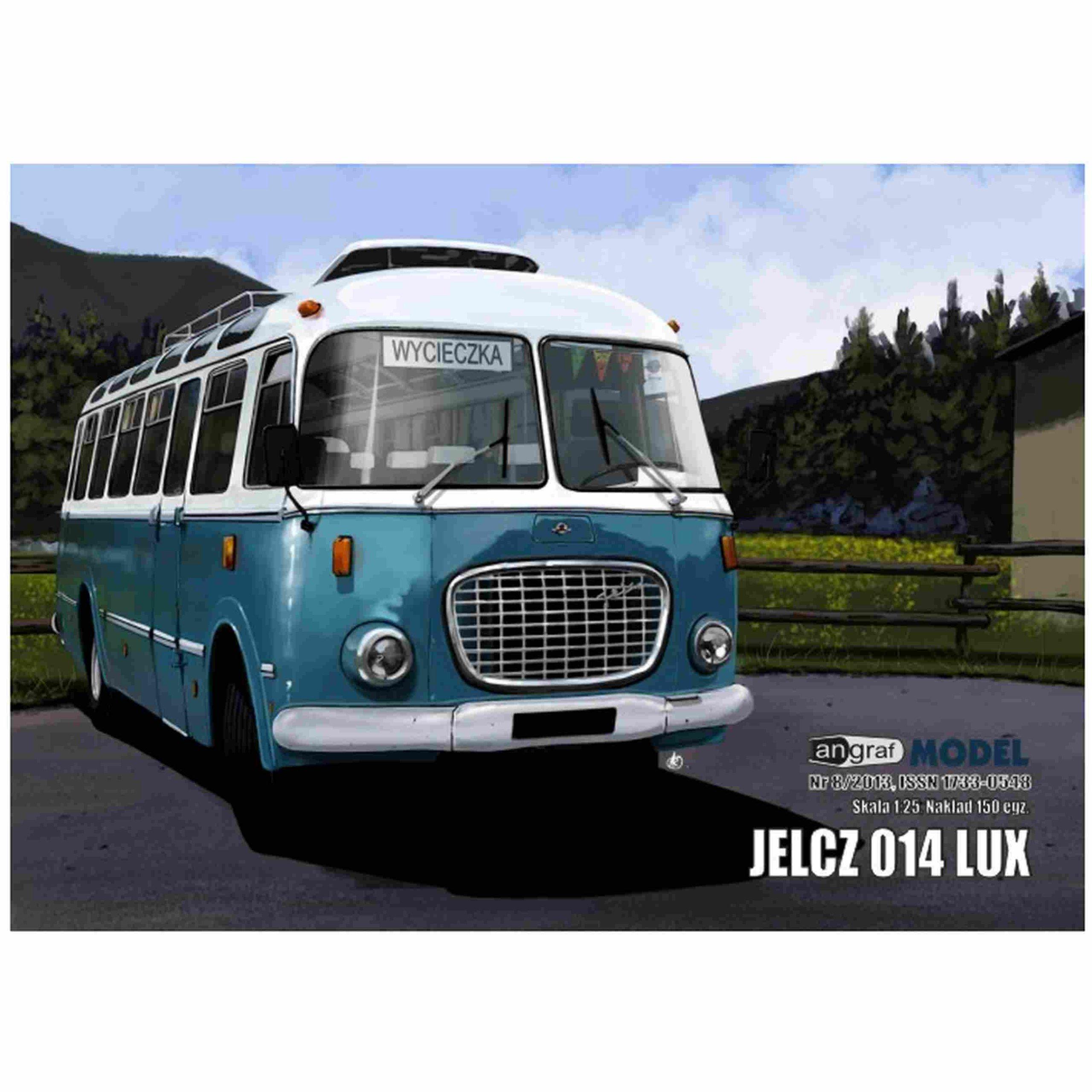 Angraf 8/16 - Bus Jelcz 014 LUX 1:25