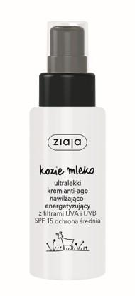 Ziaja kozie mleko ultralekki krem nawilżający 50ml 7163516853 - Allegro.pl