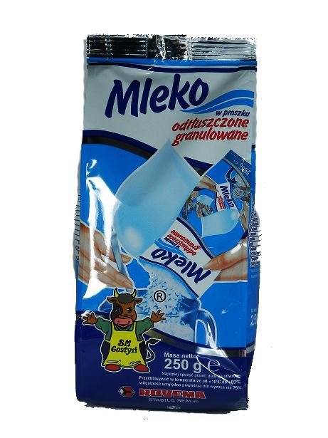 Mleko w proszku Gostyń granulowane odtłuszczone