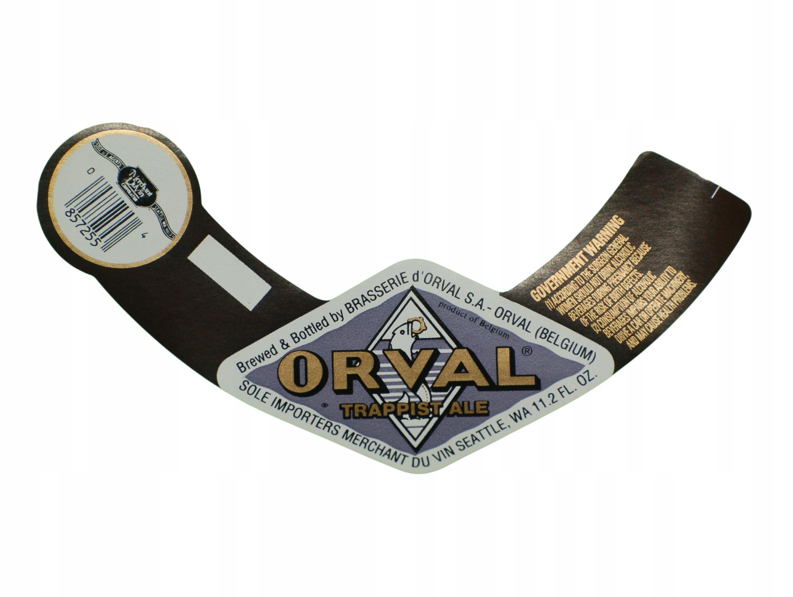 Купить ORVAL BEER BEER LABEL Бельгия на Otpravka - цены и фото - доставка из Польши и стран Европы в Украину.