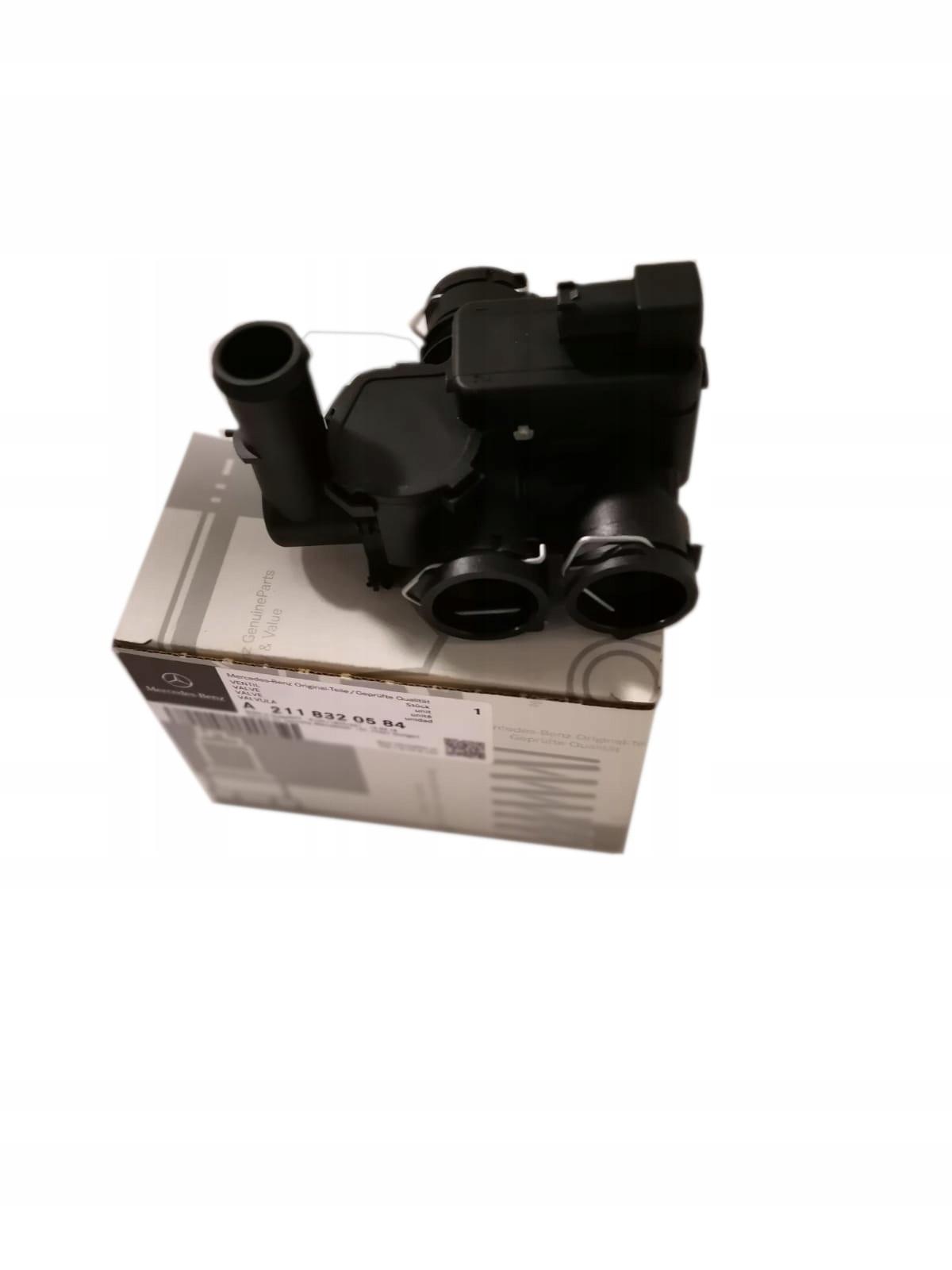 клапан отопления e класс w211 cls w219 mercedes
