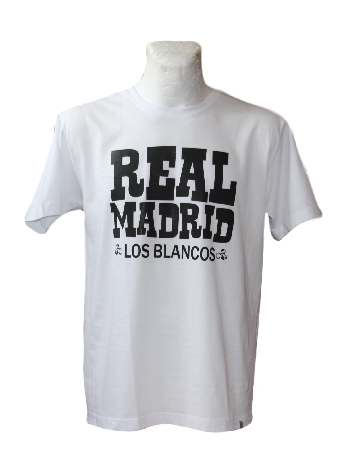Real Madrid T-Shirt tričko pre ventilátor Rozm