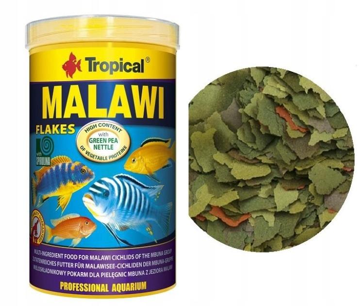 4000ml 760 g TROPICKÉ MALAWI krmivo pre ryby