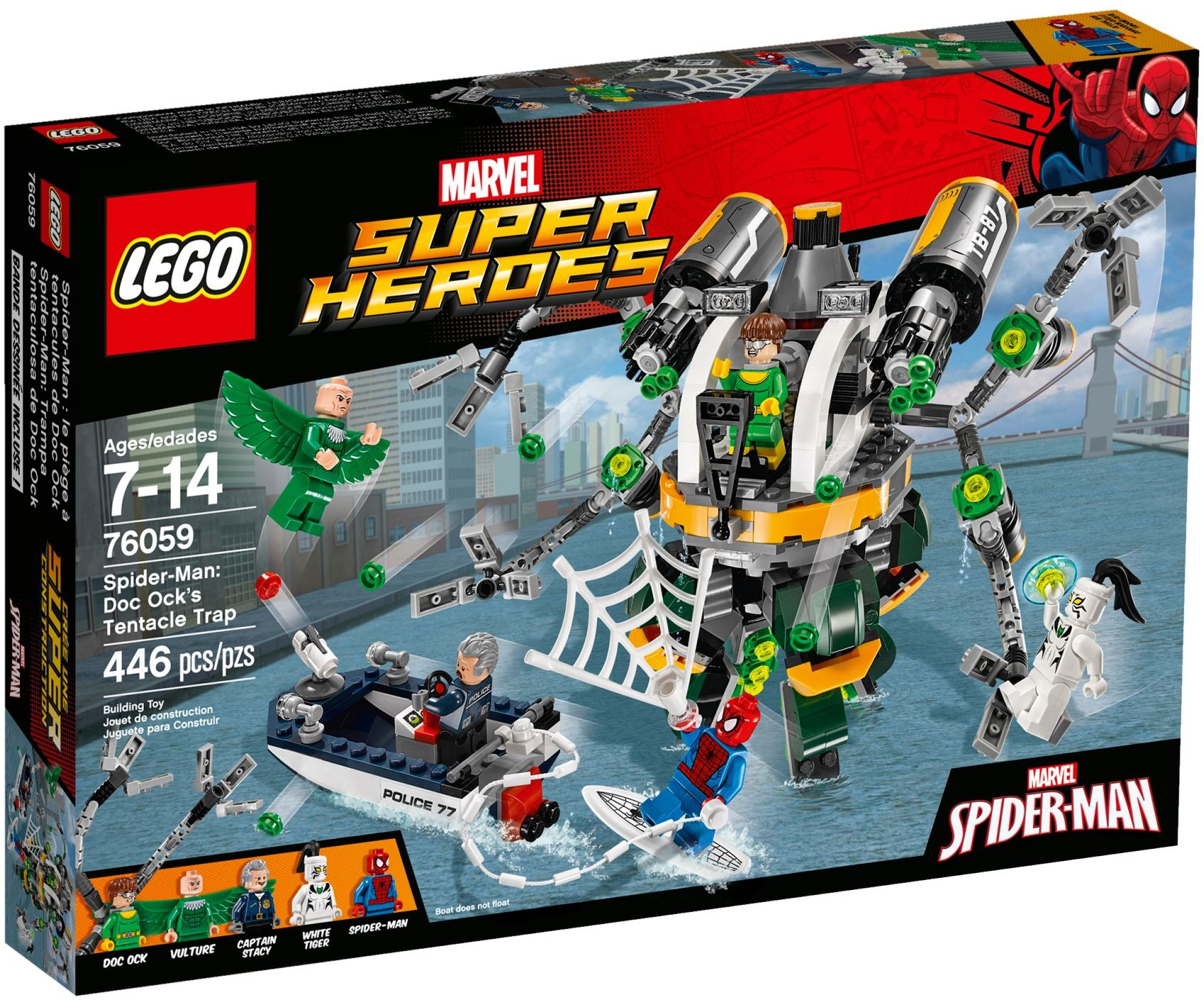 Lego Super Heroes 76059 Spiderman Doc OK Vulture 24h