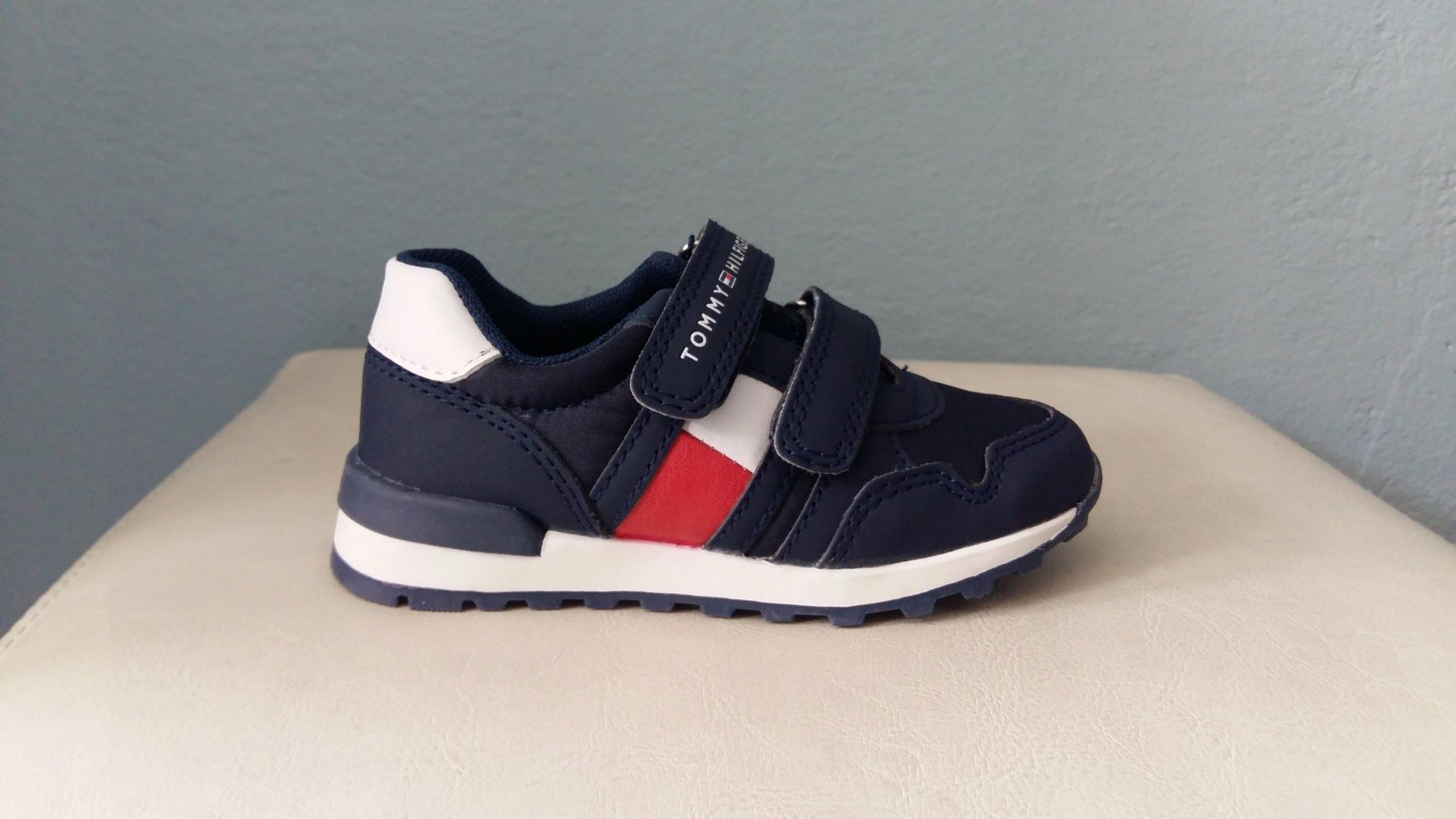 2206485fd493 Tommy Hilfiger buty sportowe rozmiar 24 15cm. - 7412650151 ...