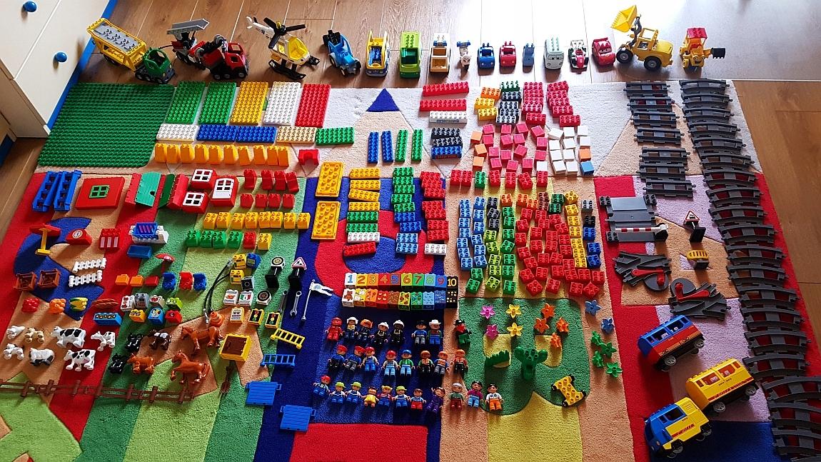 Mega Zestaw Klocków Lego Duplo Kolejka Elekinne 7700440146