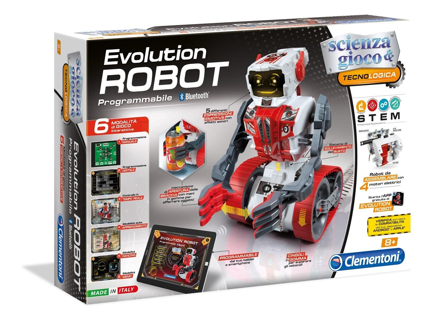 ca58e9151a0c Evolution ROBOT CLEMENTONI programowanie BLUETOOTH - 6934997635 ...