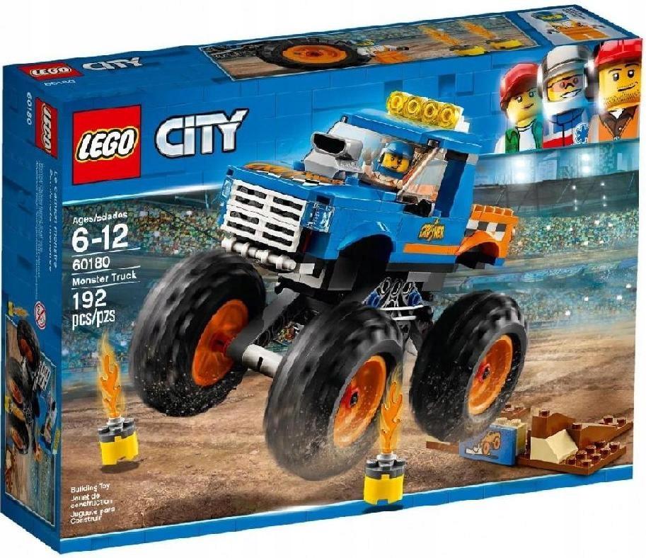 Lego Polska City Monster Truck Gratis 7674932920 Oficjalne