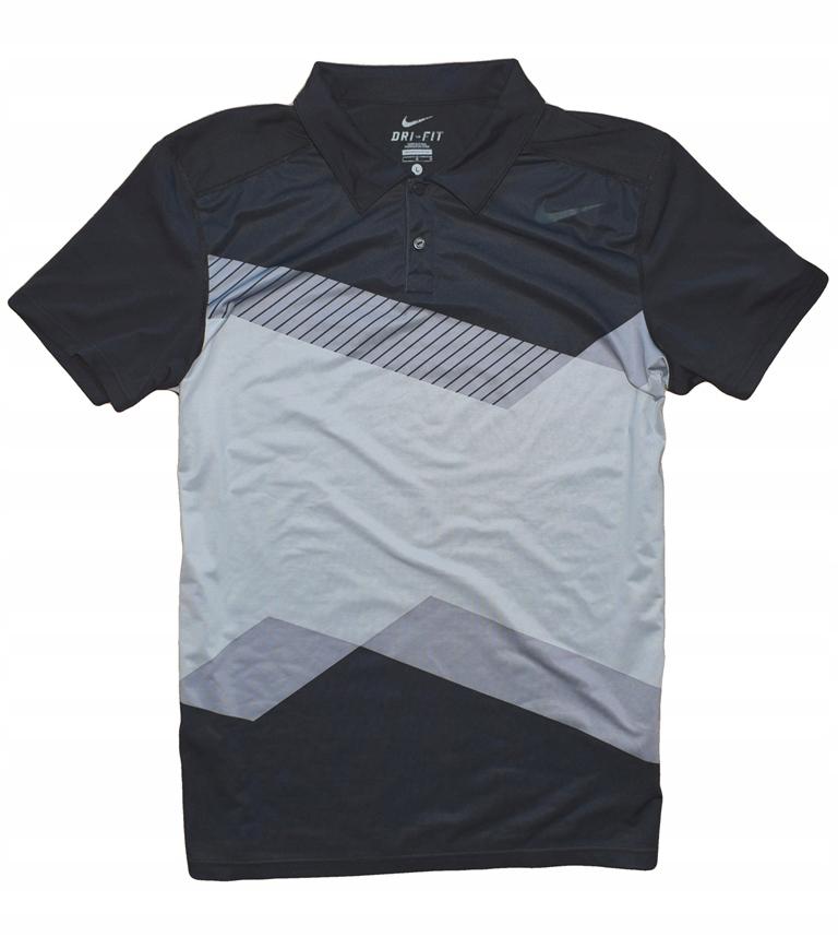 Nike Tennis L/XL koszulka polo techniczna tenisowa