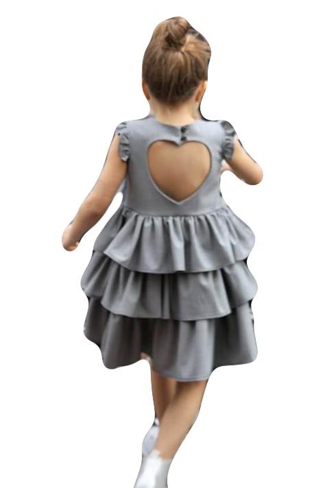 243bacc8a9 Sukienka w Krateczkę z Sercem PL R 146 152 - 7243544259 ...