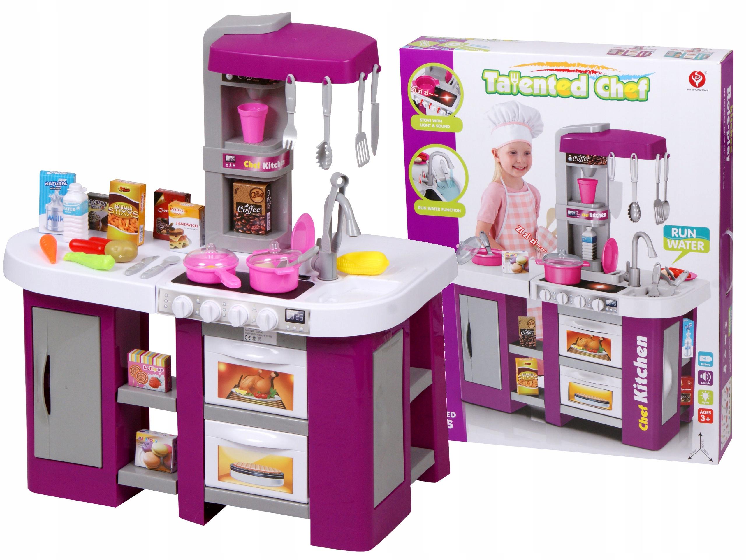 Kuchnia Kuchenka Dla Dzieci Duża 53 Elementy