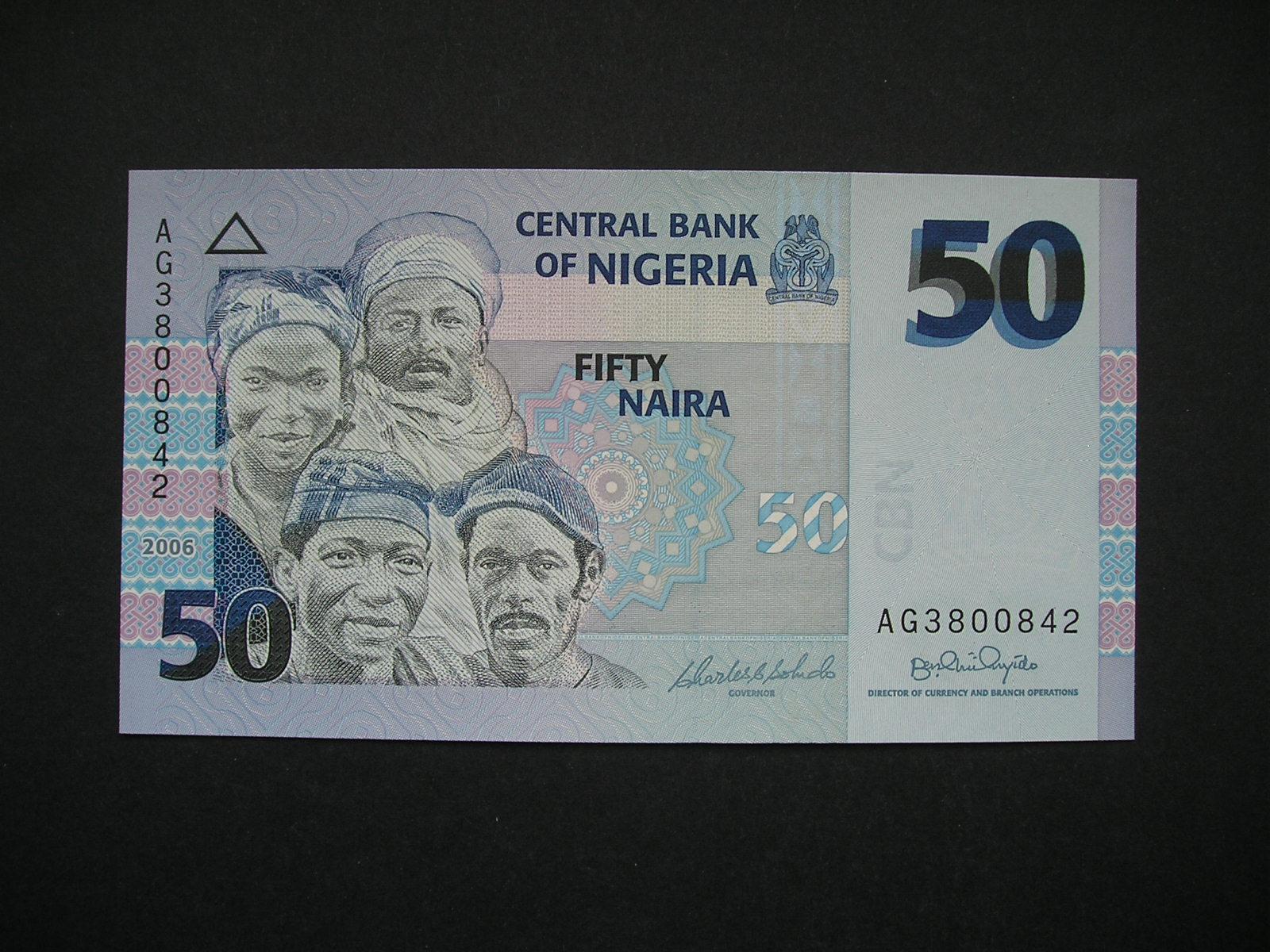 Nigeria 50 Naira 2006 Stan Unc 7161824100 Oficjalne Archiwum Allegro