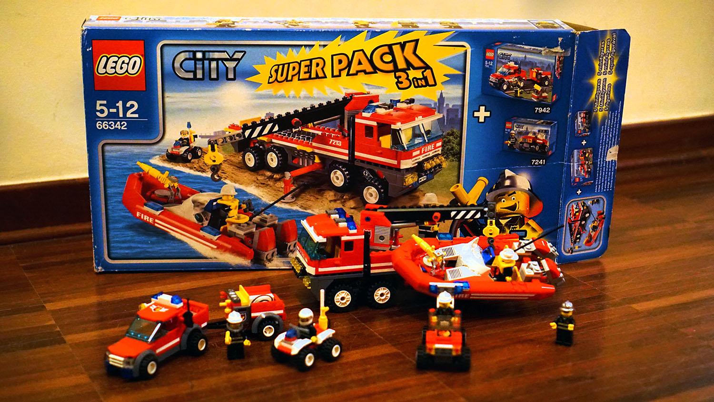 Lego City Straż Pożarna 66342 7361595042 Oficjalne Archiwum Allegro