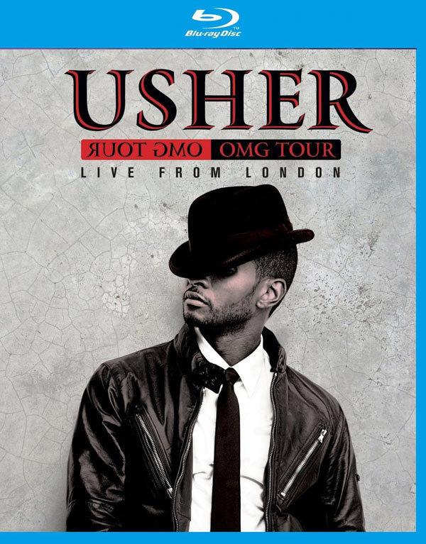 USHER LIVE FROM LONDON OMG TOUR BLU-RAY PROMOCJA!