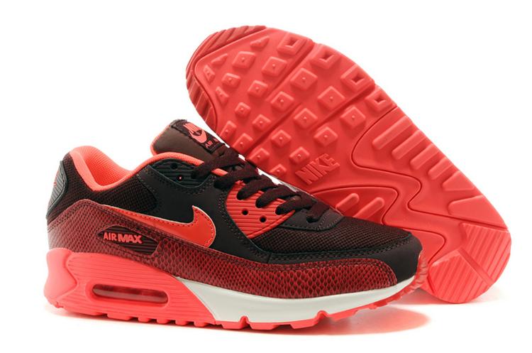 Buty DamskieMęskie Nike Air Max 90 Essential 610 czerwony
