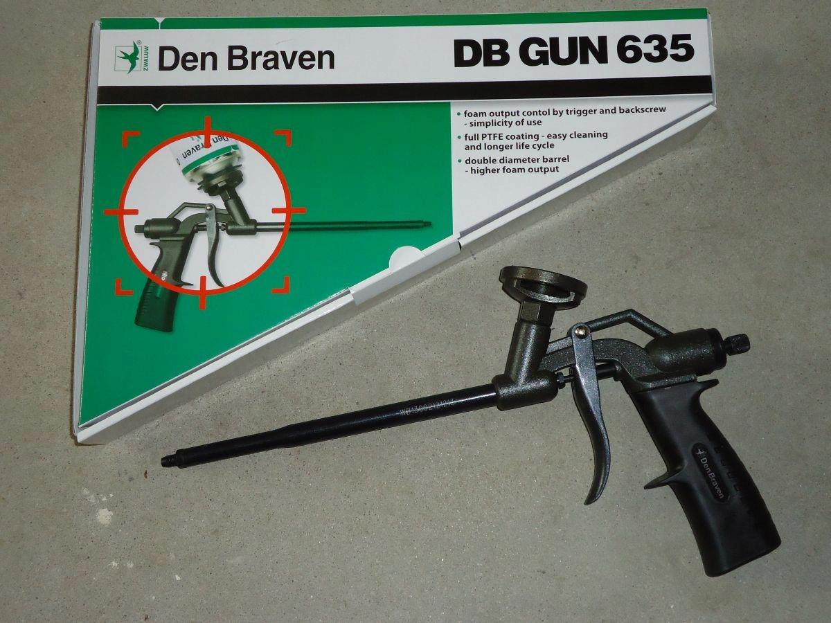 PISTOLET DO PIANKI TEFLONOWANY GUN 635 DEN BRAVEN