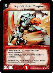 *DM-06 DUEL MASTERS - PYROFIGHTER MAGNUS - !!!