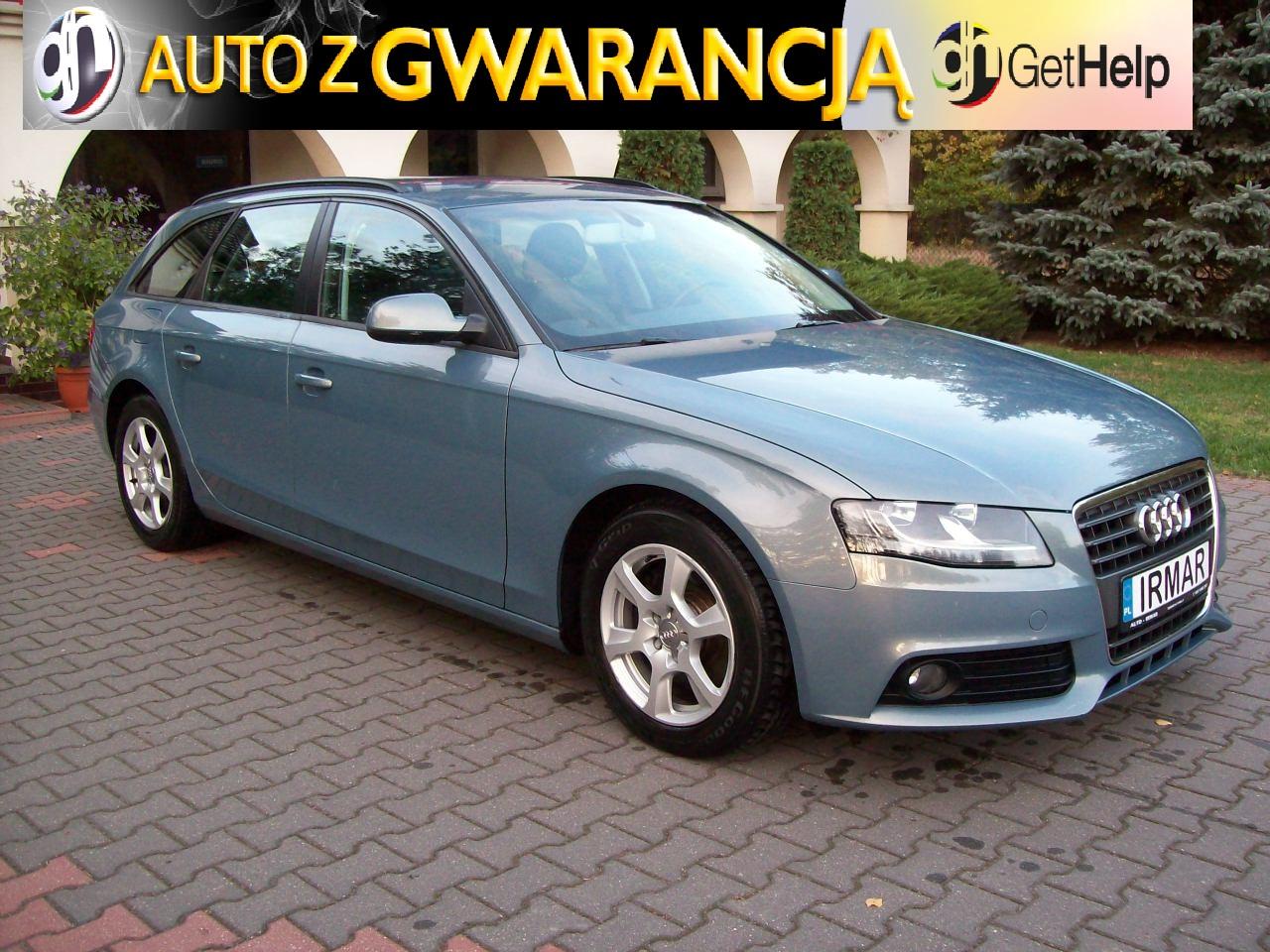 Audi A4 B8 20 Tdi Cr Nawigacja Skórzana Tapicerka 7663874052