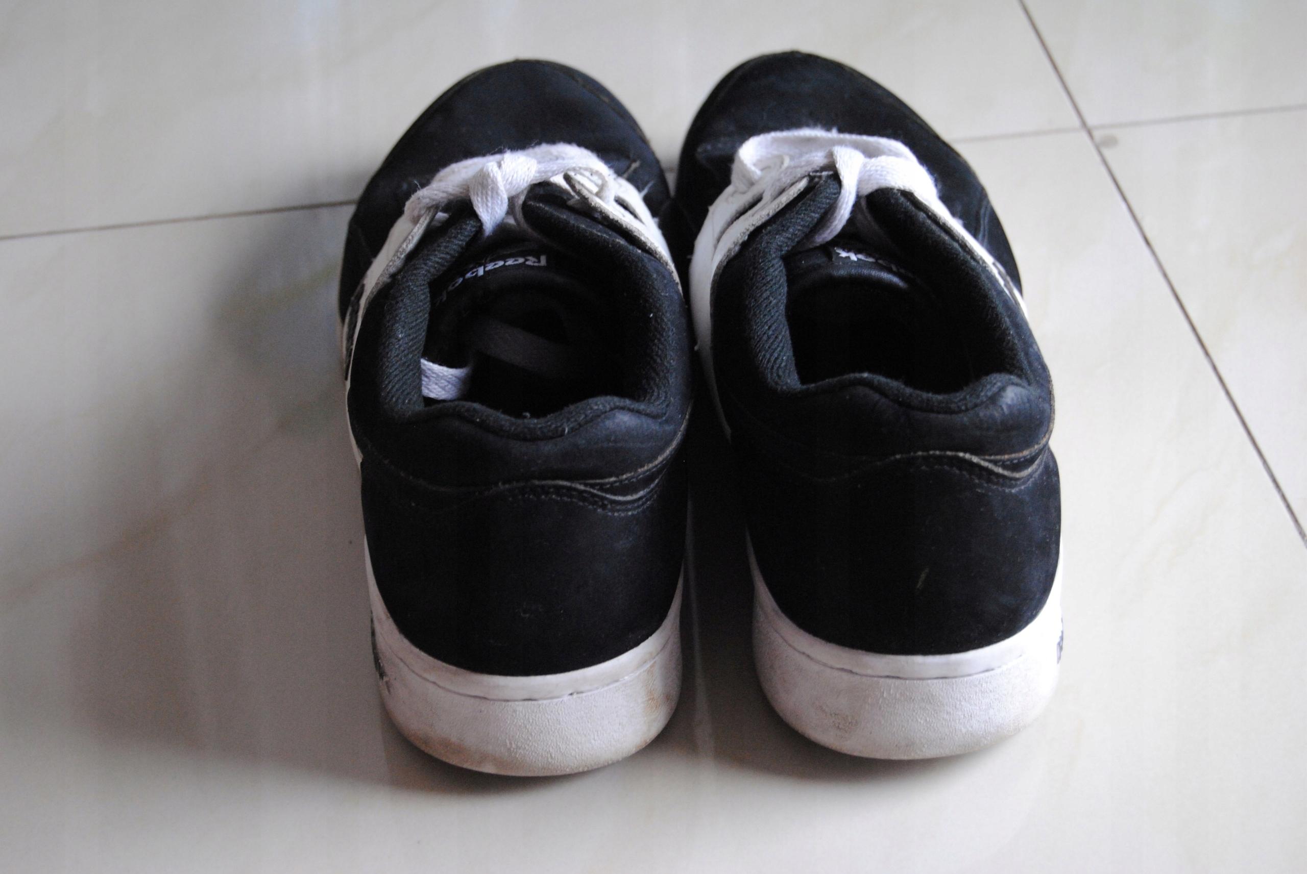 91e057d4 buty REEBOK Classic czarno-białe 43 sportowe - 7529278551 ...